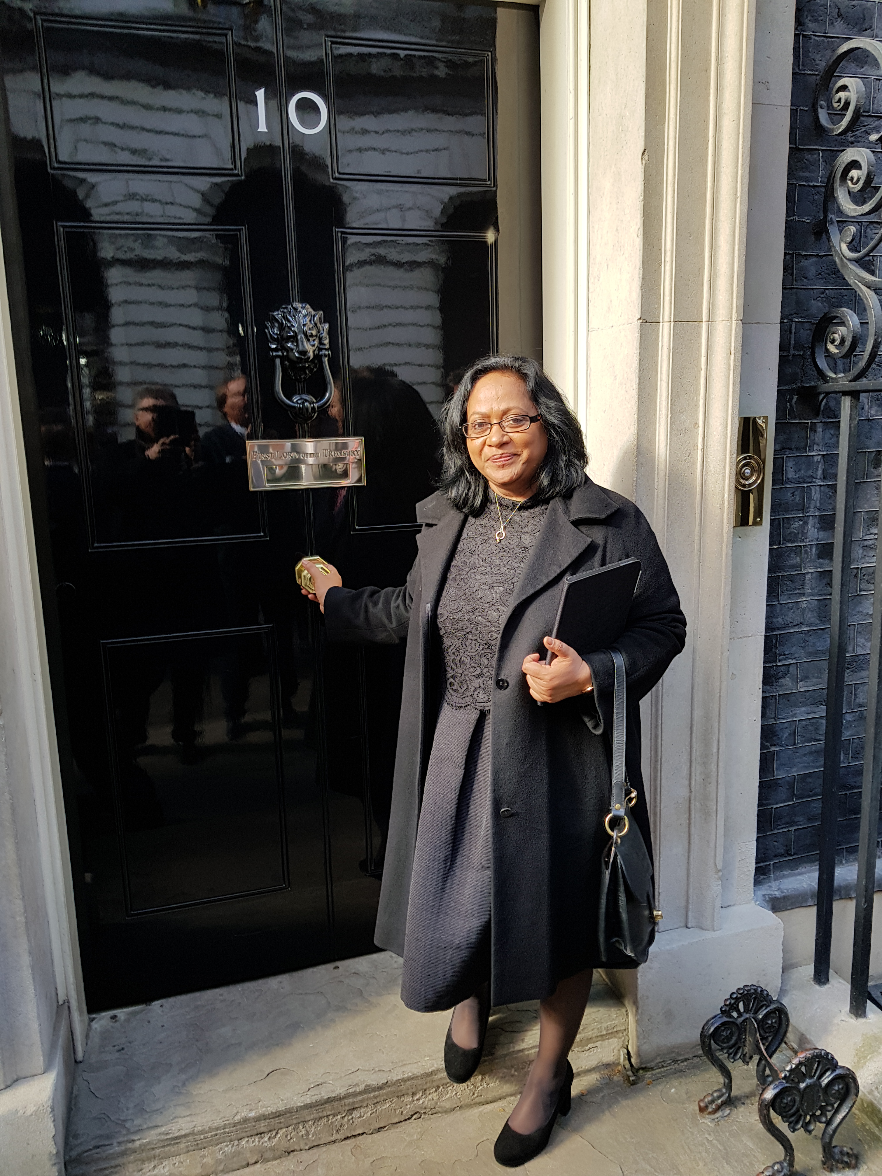 In 10, Downing Street und im House of Commons